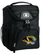 Missouri Tigers Lunch Bag Insulated Soft Cooler Black MIZZOU Our BEST NCAA Lunchbox