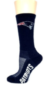 New England Patriots #574 Athletic crew Socks in Navy for Women or Boys