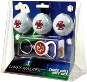 NCAA Boston College Eagles - 3 Ball Gift Pack with Key Chain Bottle Opener