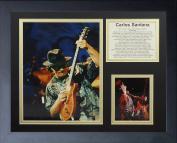 "Legends Never Die ""Carlos Santana"" Framed Photo Collage, 28cm x 36cm"