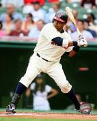 Carlos Santana Cleveland Indians MLB Action Photo (Size