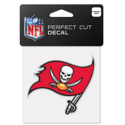 Tampa Bay Buccaneers Perfect Cut Colour Decal 10cm X 10cm New Wall Decal NFL