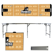NCAA Providence College Friars basketball Court Version 2.4m Folding Tailgate Table,1234,Multicoloured