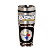 Pittsburgh Steelers 470ml Stainless Steel Travel Tumbler/Mug