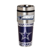 Dallas Cowboys 470ml Stainless Steel Travel Tumbler/Mug