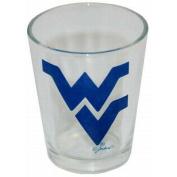 NCAA West Virginia Mountaineers Logo Shotglass