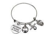 Softball Bracelet- She Believed She Could So She Did Girls Softball Jewellery -Gift for Softball Player, Team and Coaches Gifts