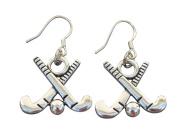 Field Hockey Earrings, Field Hockey Jewellery, Field Hockey Gifts, Field Hockey Charm Earrings, Perfect Gift for Girl Field Hockey Players