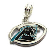 CAROLINA PANTHERS OFFICIALLY licenced CHARM WITH CONNECTOR