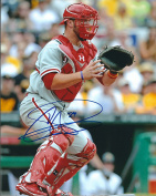 Autographed Cameron Rupp 8x10 Philadelphia Phillies Photo
