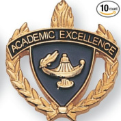ACADEMIC EXCELLENCE AWARD LAPEL PIN - PACK OF 10