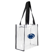 NCAA Penn State Nittany Lions Square Stadium Tote, 11.5 x 14cm x 29cm , Clear