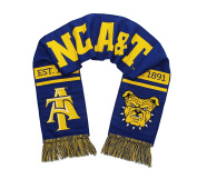 NC A & T Scarf - North Carolina A & T Aggies Double Sided Woven