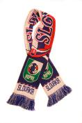 Slovakia National Soccer Team | Premium Fan Scarf  .   Acrylic Knit Scarf