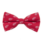 Detroit Red Wings NHL Repeated Logo Bow Tie - Hockey Team Logo