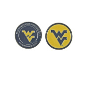 West Virginia Mountaineers (WVU) Double Sided Golf Ball Marker