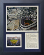 Legends Never Die Yankee Stadium Old and New Construction Framed Photo Collage, 28cm x 36cm