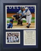 Legends Never Die Derek Jeter 3000th Hit Framed Photo Collage, 28cm x 36cm
