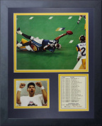 """Legends Never Die """"1999 St. Louis Rams Champions The Tackle"""" Framed Photo Collage, 28cm x 36cm"""