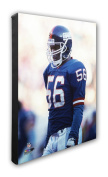 "NFL New York Giants Lawrence Taylor Beautiful Gallery Quality, High Resolution Canvas, 16"" x 20"""