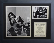 "Legends Never Die ""Waylon Jennings"" Framed Photo Collage, 28cm x 36cm"