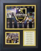 Legends Never Die Pittsburgh Steelers Super Bowl Championships Framed Photo Collage, 28cm x 36cm