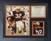 "Legends Never Die ""Jim Brown Running"" Framed Photo Collage, 28cm x 36cm"