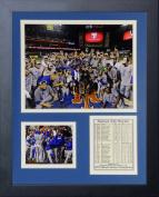 MLB Kansas City Royals 2015 World Series Champions Mound Framed Photo Collage, 28cm x 36cm