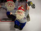 Jimmie Johnson #48 Nascar Santa Christmas Ornament