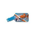 Disney Pixar Planes Children Plastic Luggage Tag Travel Suitcase Baggage Card Holder Name