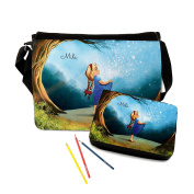 Sterntaler Fairytale Filled Pencil Case and School Stationery Set With Girl In The Forest With A Name Of Your Choice S3