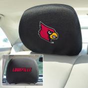 Fanmats NCAA University of Louisville Head Rest Cover 25cm x 33cm