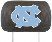 FANMATS NCAA UNC University of North Carolina - Chapel Hill Tar Heels Polyester Head Rest Cover