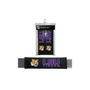 Fremont Die 2324556731 LSU Tigers Velour Seat Belt Pads