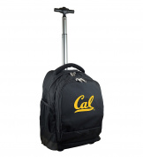 NCAA California Golden Bears Expedition Wheeled Backpack, 48cm , Black