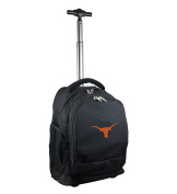 NCAA Texas Longhorns Expedition Wheeled Backpack, 48cm , Black