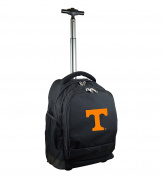 NCAA Tennessee Volunteers Expedition Wheeled Backpack, 48cm , Black