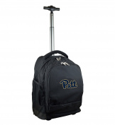 NCAA Pittsburgh Panthers Expedition Wheeled Backpack, 48cm , Black