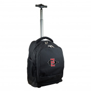 NCAA San Diego State Aztecs Expedition Wheeled Backpack, 48cm , Black