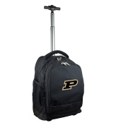 NCAA Purdue Boilermakers Expedition Wheeled Backpack, 48cm , Black