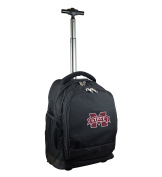 NCAA Mississippi State Bulldogs Expedition Wheeled Backpack, 48cm , Black