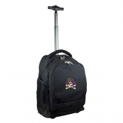 NCAA East Carolina Pirates Expedition Wheeled Backpack, 48cm , Black