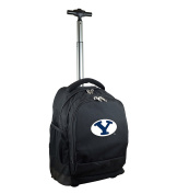 NCAA BYU Cougars Expedition Wheeled Backpack, 48cm , Black