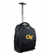 NCAA Georgia Tech Yellow Jackets Expedition Wheeled Backpack, 48cm , Black