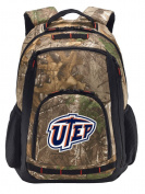 UTEP Camo Backpack RealTree UTEP Miners Laptop Computer Bag