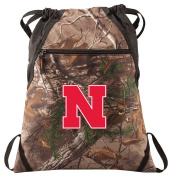 University of Nebraska Camo Cinch Pack RealTree Cornhuskers Drawstring Bag