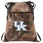 University of Kentucky Camo Cinch Pack RealTree UK Wildcats Drawstring Bag