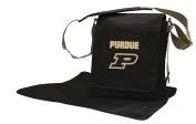 NCAA Purdue Boilermakers Messenger Nappy Bag, 13.25 x 31cm x 15cm , Black