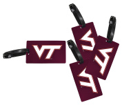 Virginia Tech Hokies Luggage Tag 4-Pack