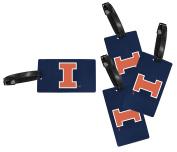 Illinois Fighting Illini Luggage Tag 4-Pack